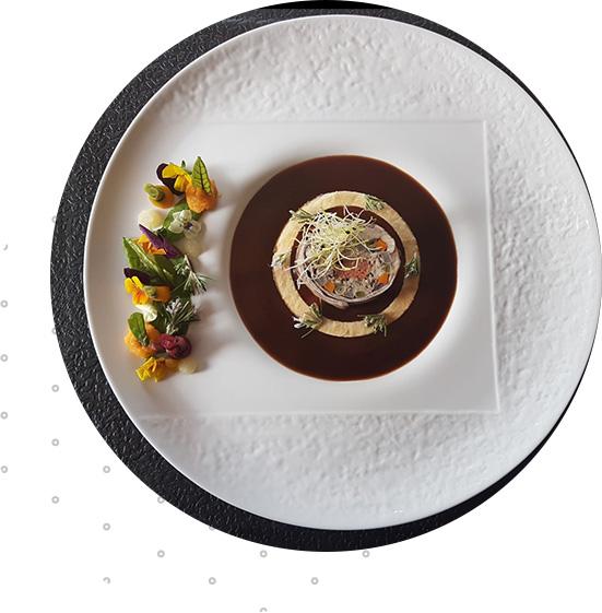 2 restaurants d'application ouverts aux clients, particuliers et professionnels, sur réservation uniquement