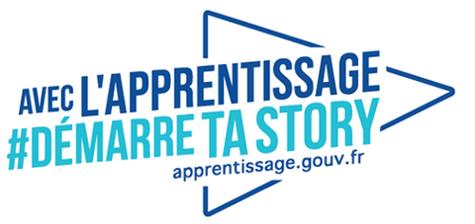 Logo de l'apprentissage #démarretastory