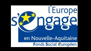Logo L'europe s'engage avec le Fonds social européen