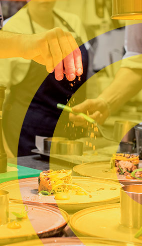 Visuel illustrant une formation en cuisine