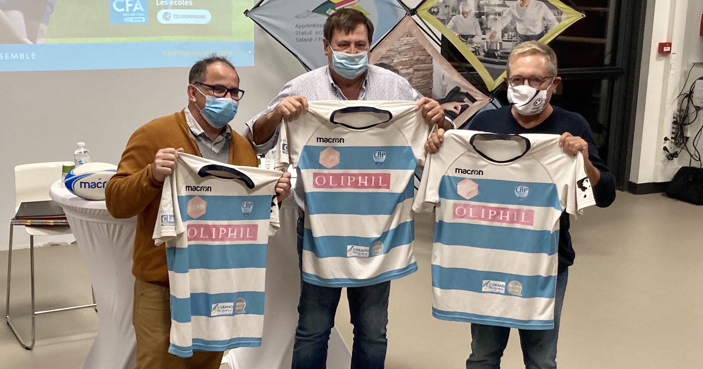 Partenariat 2020 CAP Dordogne Rugby et le Campus de la formation professionnelle