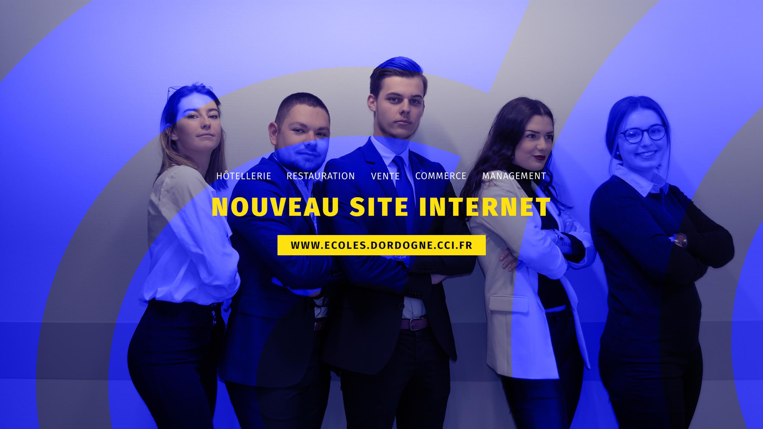 NOUVEAU SITE INTERNET DES ÉCOLES CCI DORDOGNE