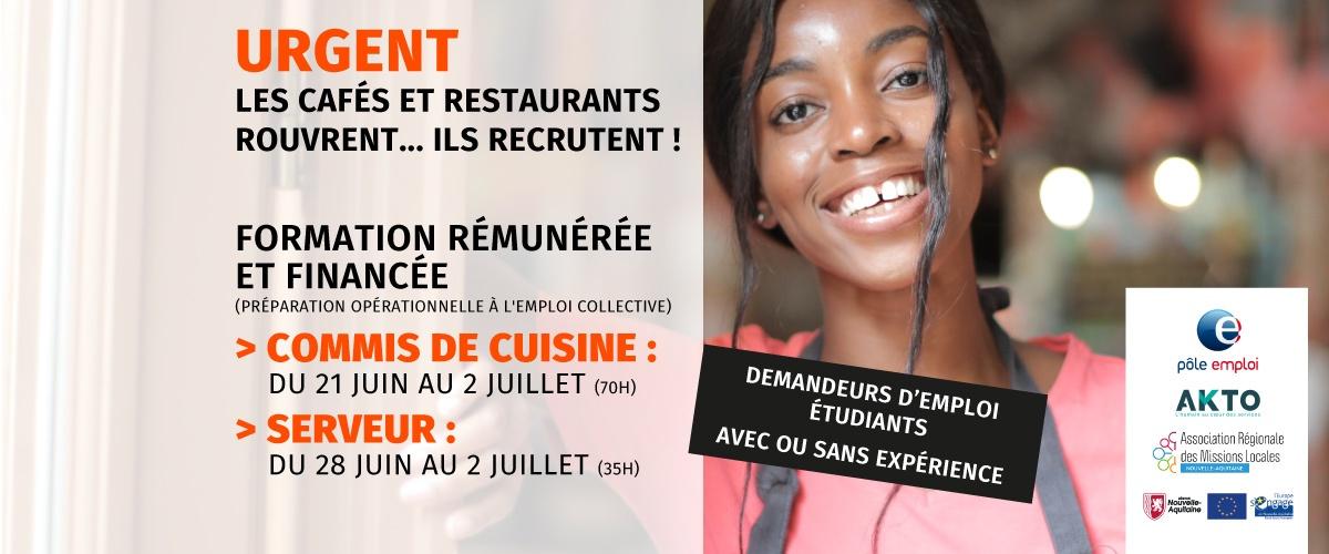 photo POEC formation cuisine service