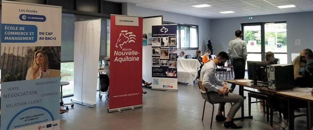 photo de la Vaccination contre la Covid aux Écoles CCI Dordogne