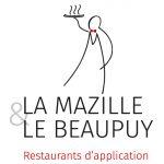 logo restaurants mazille beaupuy
