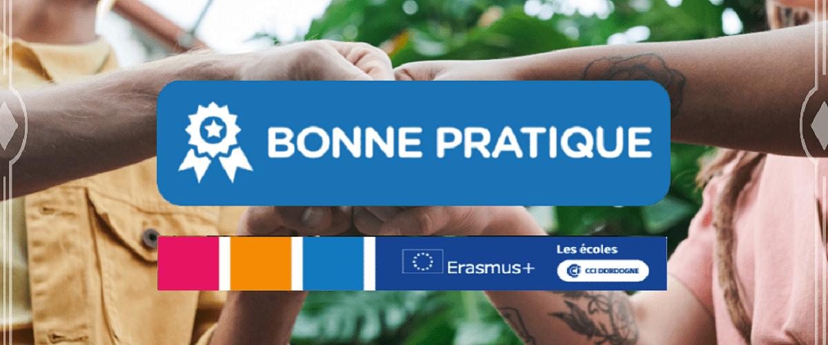 label bonne pratique erasmus